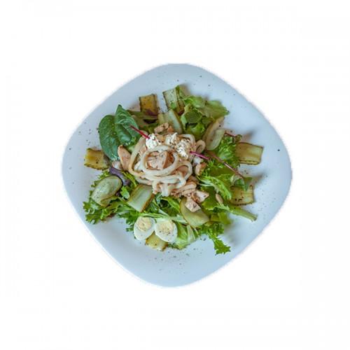 Салат «Медуза Горгона»